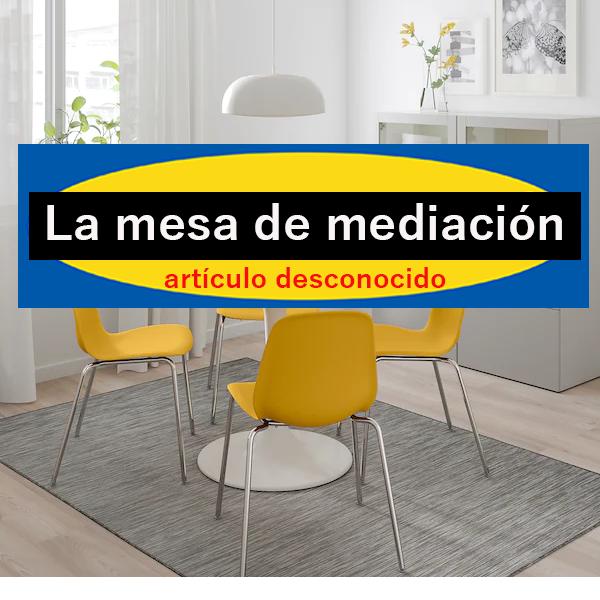 la mesa de mediación